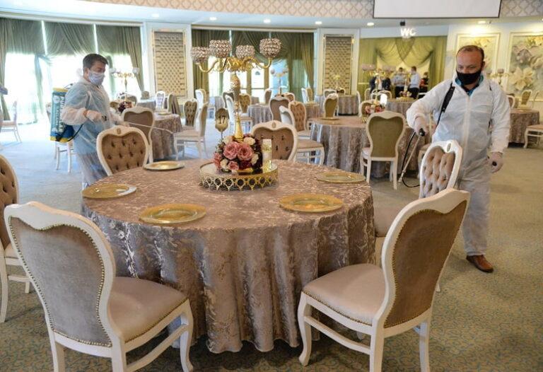 Pursaklar'da düğünler kontrol altında