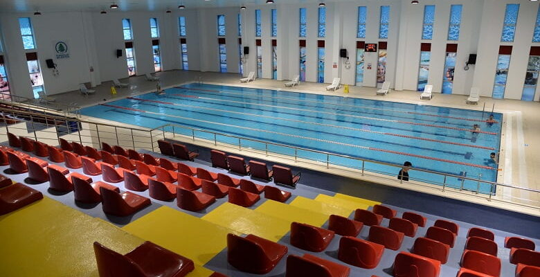 Yüzme havuzu yeniden hizmete açıldı