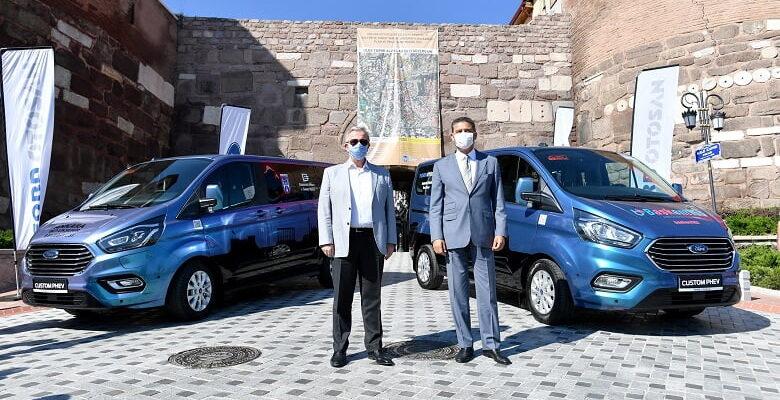 Ulus ve Ankara Kalesi'nde tarihe hibrit araçlarla yolculuk