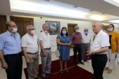 KentKoop site başkanlarından Yaşar'a ziyaret