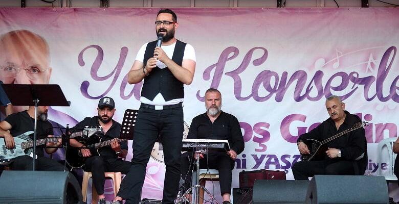 Yenimahalle'de açık hava yaz konserleri başlıyor