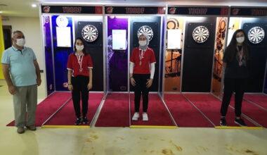 Yenimahalle'nin sporcuları Dart Turnuvasına damga vurdu
