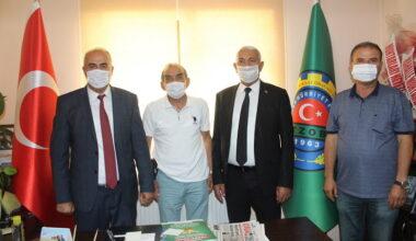Mansur Yavaş'ın danışmanı Murat Kubat'tan Akyurt'a ziyaret