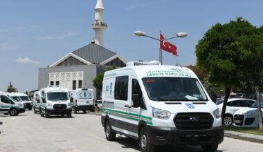Büyükşehir Cenaze Nakil Araç Filosunu Genişletiyor