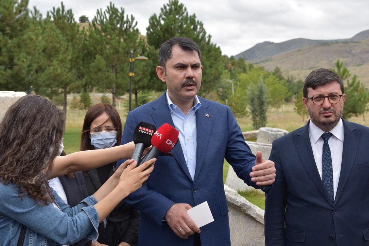 Bakan Kurum: Kalecik'e Ankara evleri yapacağız