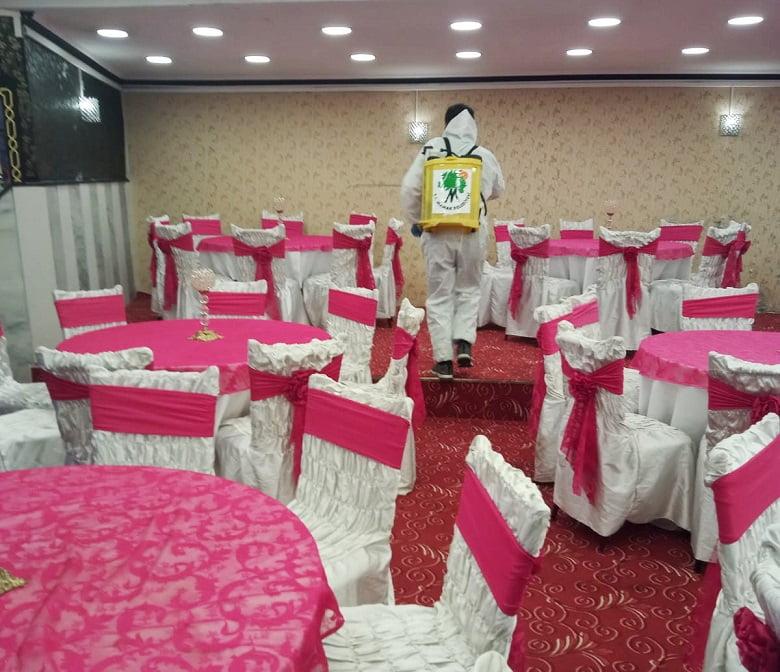 Mamak'ta düğün salonları 'yeni normal'e hazır