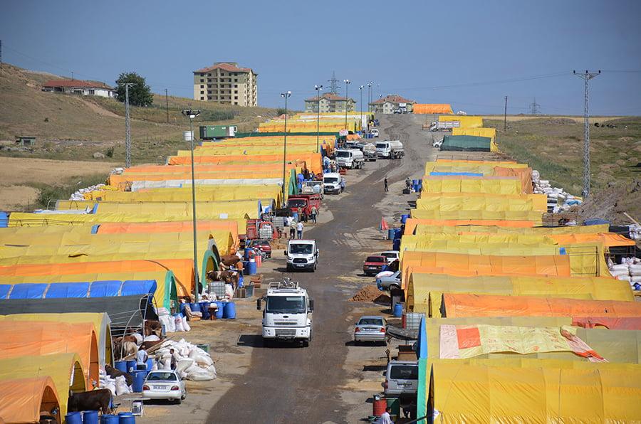 Keçiören Belediyesi modern kurban satış alanı kurdu