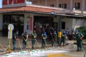 Keçiören Belediyesinden hastanelere temizlik ve bekleme çadırı desteği