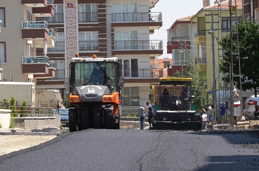 Keçiören Karakaya Mahallesinde asfaltlar yenilendi