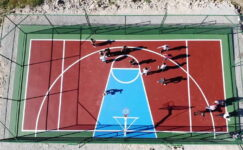 Her Mahalleye Mini Basketbol Sahası