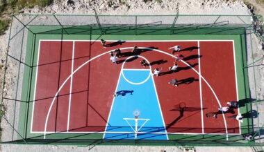 Her Mahalleye Mini Basketbol Sahası