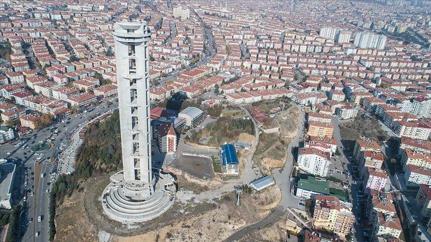 Başkent'in uluslararası gerdanlığı, Cumhuriyet Kulesi