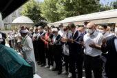 İmamoğlu, Ayşe Sancar'ın cenaze namazına katıldı