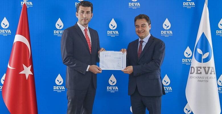 DEVA Partisi Ankara İl Başkanı ALi Güven Oldu