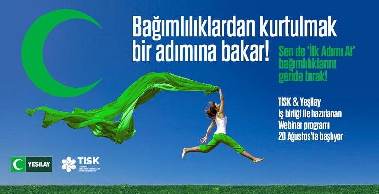 TİSK, TÜRK-İŞ ve HAK-İŞ Yeşilay ile 'İlk Adımı At' projesini hayata geçiriyor