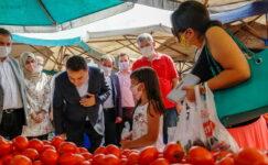 DEVA Partisi Genel Başkanı Ali Babacan'dan esnaf ziyareti