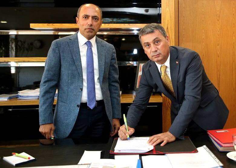 Gölbaşı Belediye Başkanı Peyzaj Düzenlenmesi İçin Protokol İmzaladı