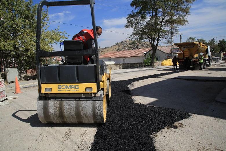 Başkan Şimşek asfalt sözünü tuttu