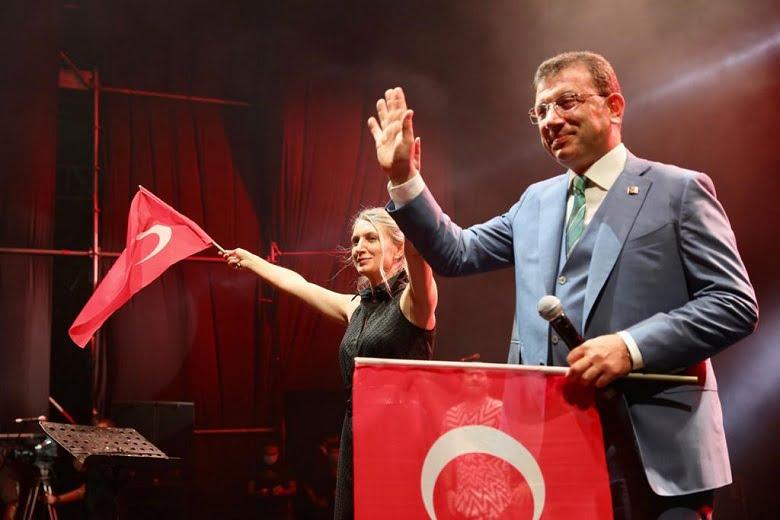 """İmamoğlu: """"Cumhuriyet Tüm Değerleriyle Bir Nimettir"""""""