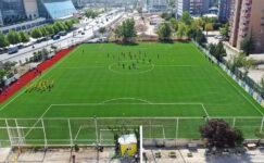Büyükşehir'den Ankaragücü'ne modern saha