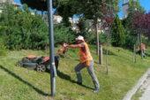 Pursaklar'ın Park ve Bahçelerinde Bakım Onarım