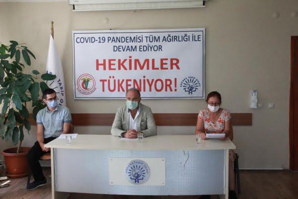 TTB: Hekimler ve sağlık çalışanlarının enerjisi ve sabrı tükeniyor