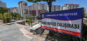 Yenimahalle'nin parkları yenileniyor