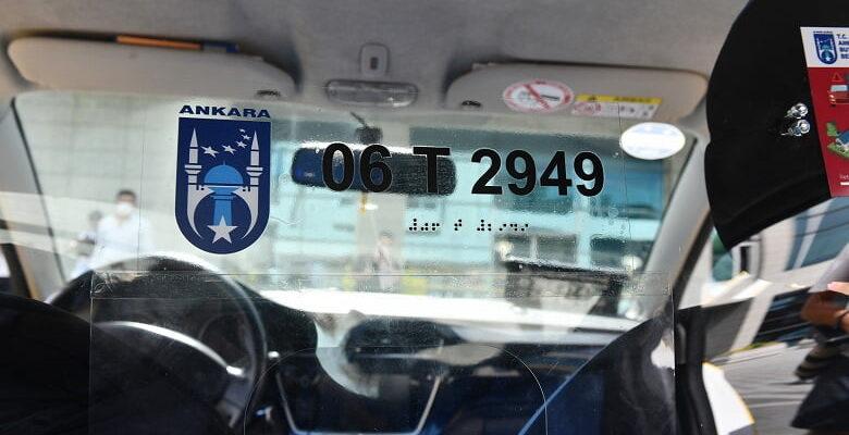 Başkentte taksiler artık daha güvenli