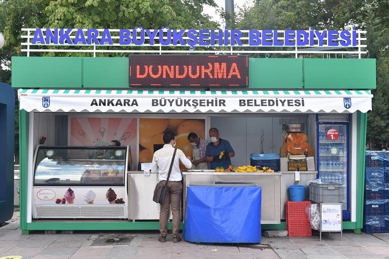 BELKO Vitamin Büfelerinde dondurma satışı başladı