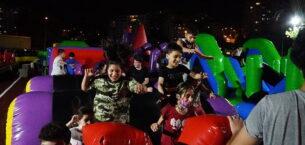 Çocuk survivor alanı eğlencenin merkezi oldu