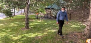 Pursaklar'da Fidanlar Ağaca Ağaçlar Ormana Dönüşüyor