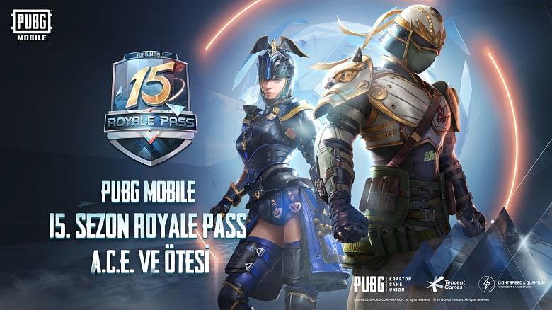PUBG Royale Pass 15. sezon başlıyor