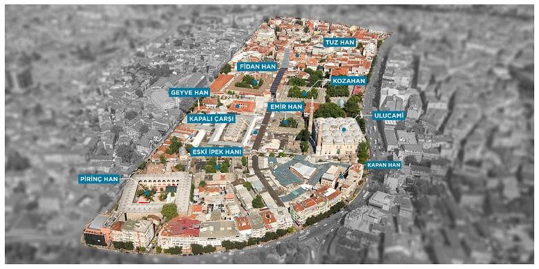 Bursa'da tarihi kentsel dönüşüm başladı