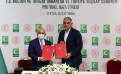 Kültür ve Turizm Bakanlığı ve Yeşilay bağımlılıkla mücadele için güçlerini birleştirdi