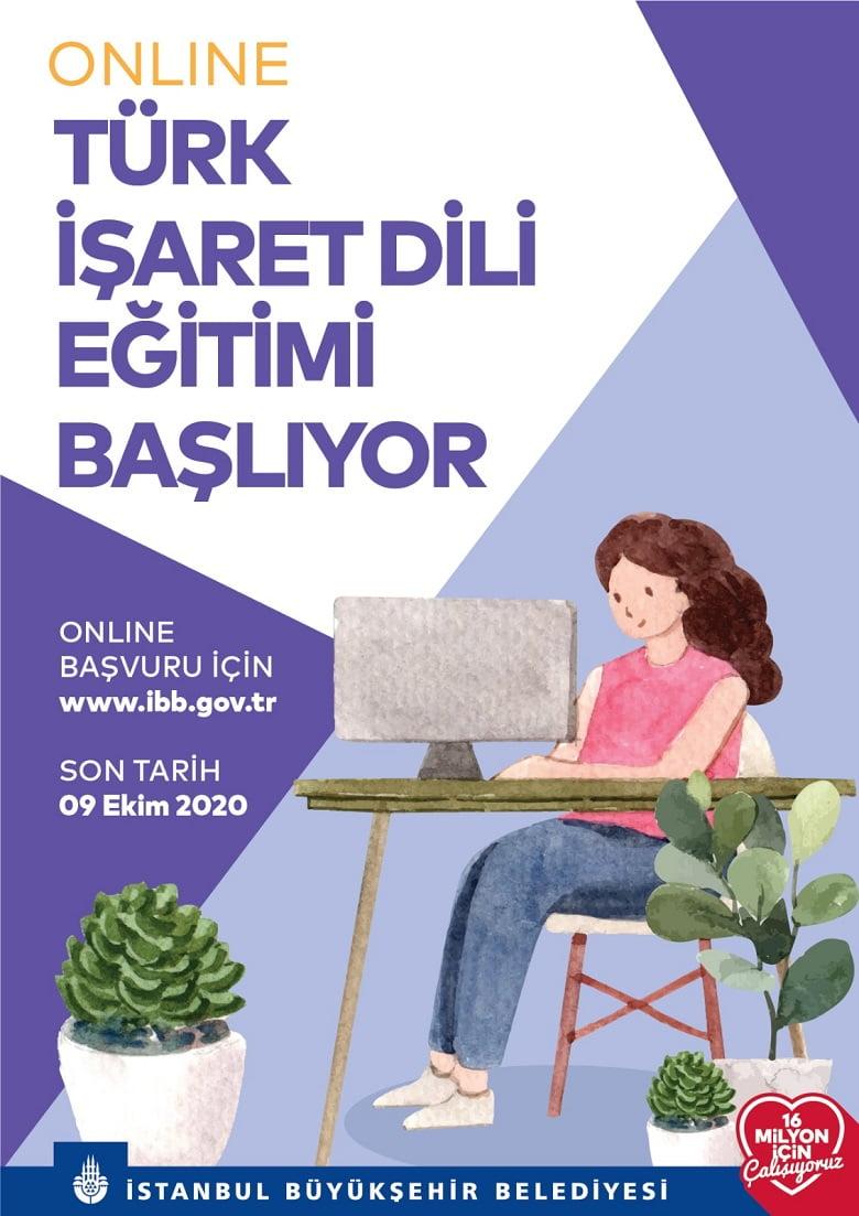 İBB'den Online Türk İşaret Dili Eğtimi