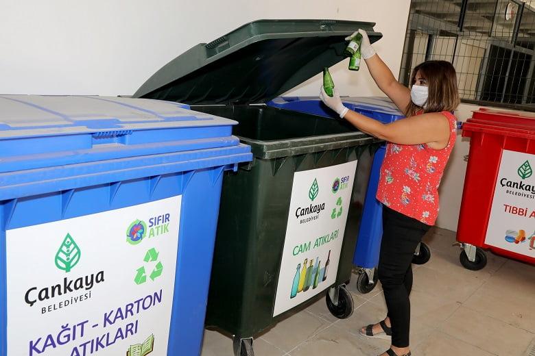 Çankaya Belediyesi'nde 'sıfır atık' dönemi başladı