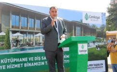Çankaya Belediyesi yeni hizmet binasının temeli atıldı