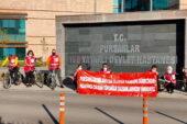 Pursaklar Belediyesi sağlık çalışanları için pedal çevirdi
