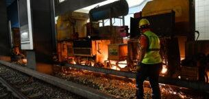 Ankara raylarında güvenlik ve konfor çalışması