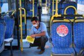 Toplu taşıma araçlarında sosyal mesafe uygulaması
