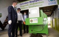 Pursaklar Belediyesi organik gübre üretimine başladı