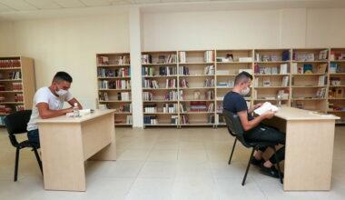 Yenimahalle kütüphanelerine pandemi düzenlemesi