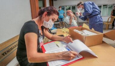 Yenimahalle Belediyesi kreşlerinde Covid-19 testi