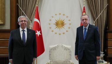 Erdoğan ve Yavaş bir araya geldi
