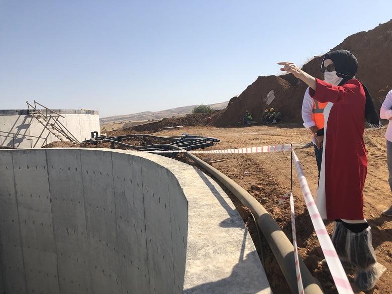Biogaz tesisinde elektrik üretimi başladı
