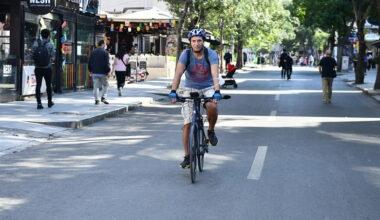 Başkentliler sıfır emisyon için pedal çevirdi