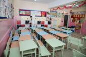 Yüzyüze eğitim öncesi okullarda tedbir arttırıldı