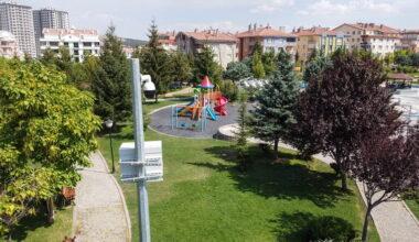 Altındağ'ın parkları 24 saat güvenli