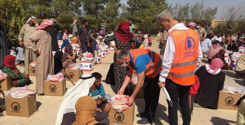 Pursaklar Belediyesi'nden yardım seferberliği