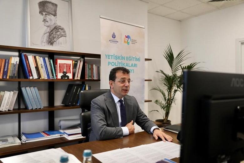 """İmamoğlu: """"İSMEK Umutlu Bir Toplum Var Etme Konusunda Sorumluluk Alacak"""""""